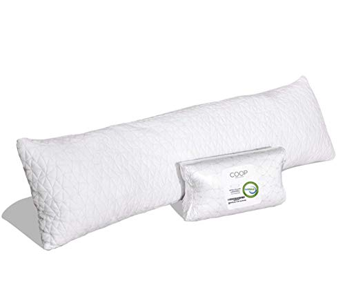Coop Home Goods - Adjustable Body Pillow -...