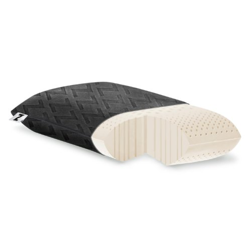 MALOUF Z Travel Zoned Dough Memory Foam Pillow...