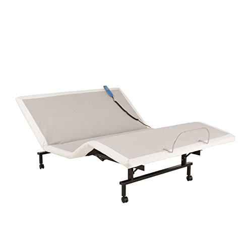 ShipShape Adjustable Bed Base with Ultra-Quiet Motor...