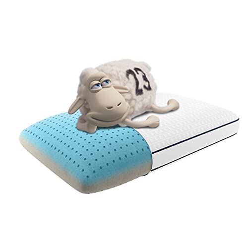 Serta Perfect Sleeper Arctic Copper Memory Foam Pillow,...
