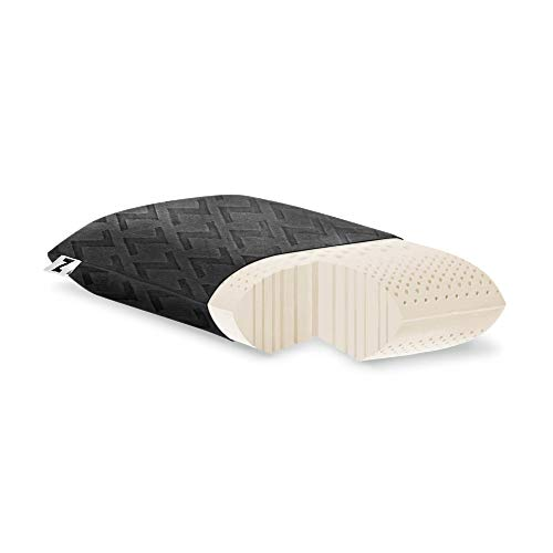 MALOUF Travel Zoned Dough Memory Foam Pillow Removable...