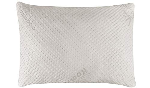 Snuggle-Pedic Ultra-Luxury Bamboo Shredded Memory Foam...