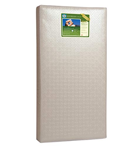 Sealy Soybean Foam-Core Toddler and Baby Crib Mattress