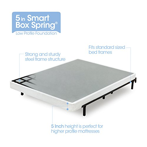 Zinus Armita 5 Inch Smart Box Spring / Mattress...