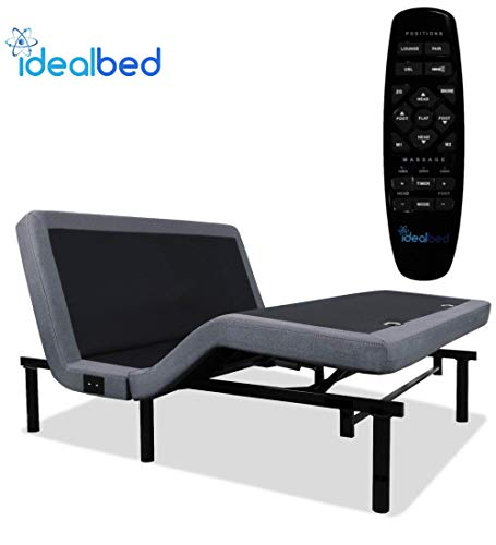 iDealBed 4i Custom Adjustable Bed Base, Wireless,...