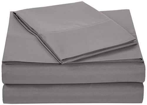 Amazon Basics Lightweight Super Soft Easy Care...