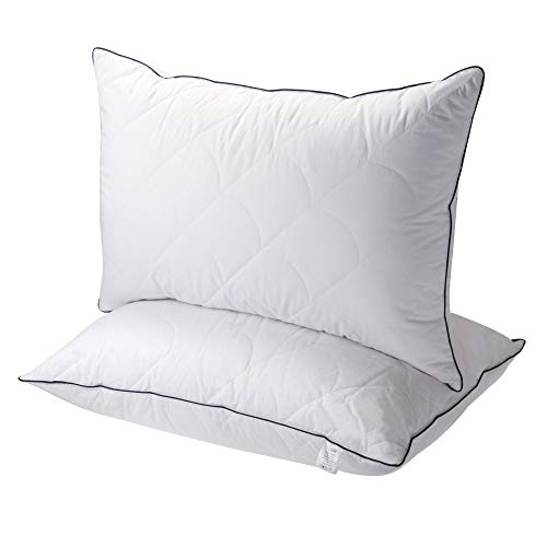 Sable Pillows for Sleeping, 2 Pack Hotel Collection Bed...