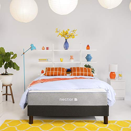 Nectar TwinXL Mattress + 2 Pillows Included - Gel...