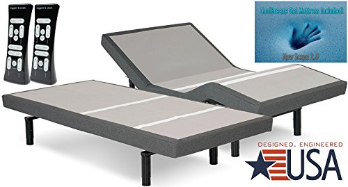 DynastyMattress S-Cape 2.0 Adjustable Beds Set Sleep...