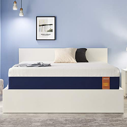 JINGXUN Queen Size Mattress 11 Inch Gel Memory Foam...