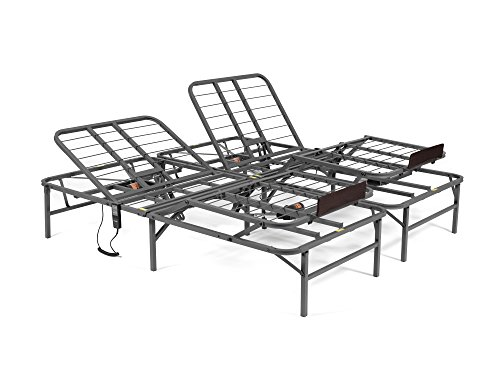 PragmaBed Pragmatic Adjustable Bed Frame, Head and...