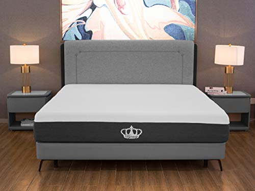12' Cooling Gel Memory Foam Mattress and Free Pillow...