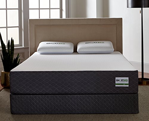 GhostBed Mattress-Queen 11 Inch-Cooling Gel Memory...