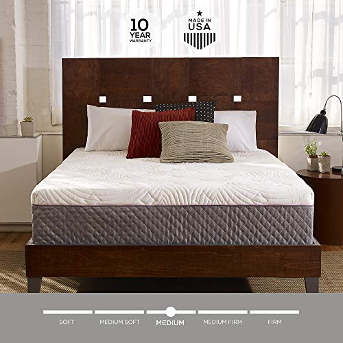 Sleep Innovations Shiloh 12-inch Memory Foam Mattress,...