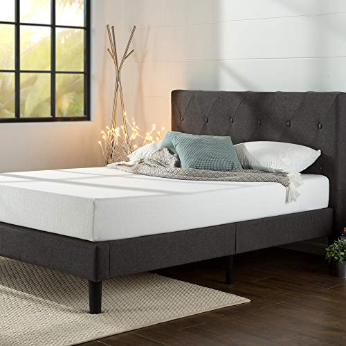 Zinus Shalini Upholstered Platform Bed / Mattress...