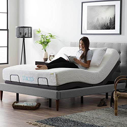 LUCID L300 Bed Base-5 Minute Assembly-Dual USB Charging...