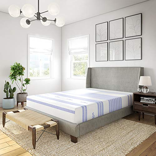 Vibe 12-Inch Gel Memory Foam Mattress | Bed in a Box,...