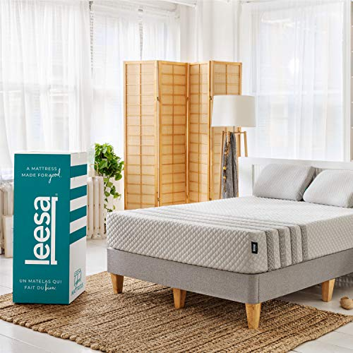 Leesa Luxury Hybrid 11 Inch Mattress, Innerspring and...