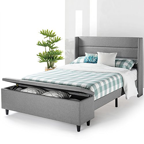 Best Price Mattress Full Bed Frame - Modern Upholstered...