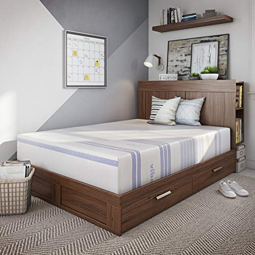 Vibe 12-Inch Gel Memory Foam Mattress | Bed in a Box,...