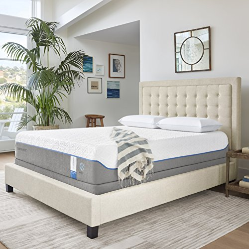 Tempur-Pedic TEMPUR-Cloud Supreme Breeze 11.5-Inch Soft...