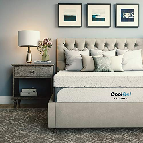 Classic Brands Cool Gel 1.0 Ultimate Gel Memory Foam...
