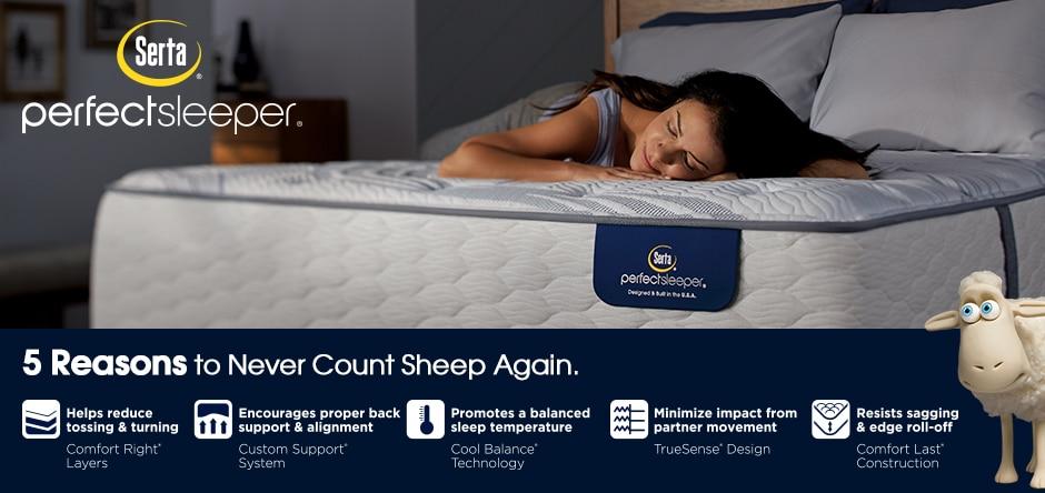 Serta Perfect Sleeper- 5 reasons to have healthy sleep