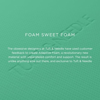 Tuft & Needle mattress foam
