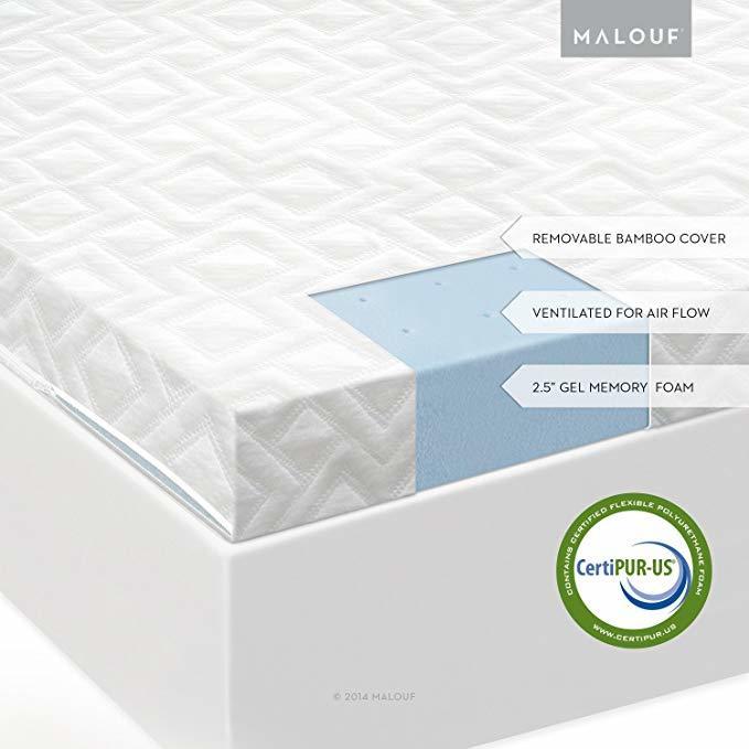 Isolus Gel memory foam mattress- Mattress topper for back pain