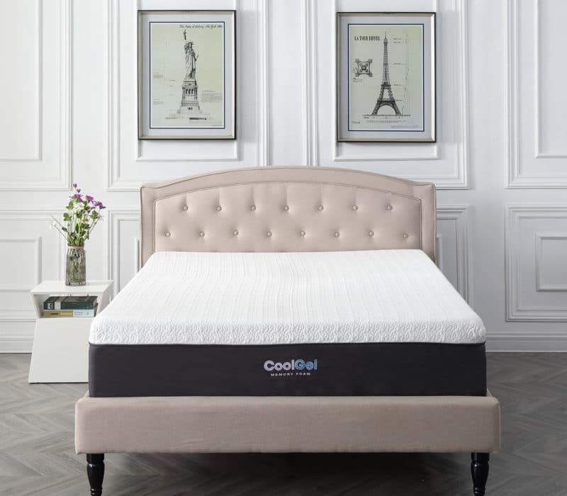 Cool Gel memory foam- Best mattress for heavy people