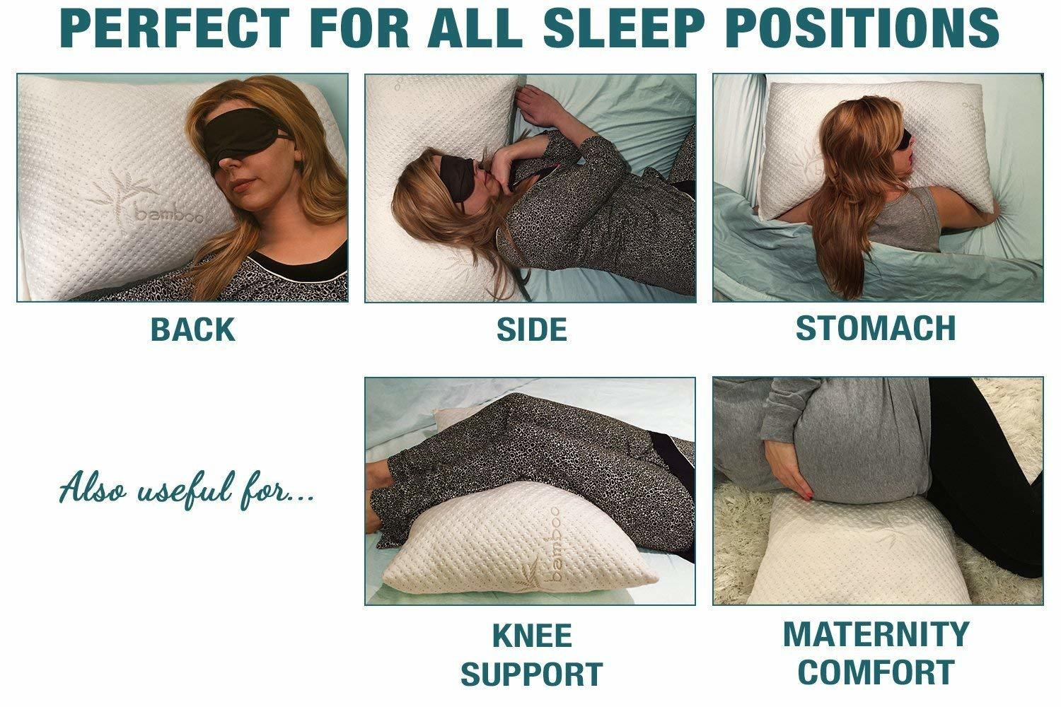 extreme comforts king size- memory foam pillows