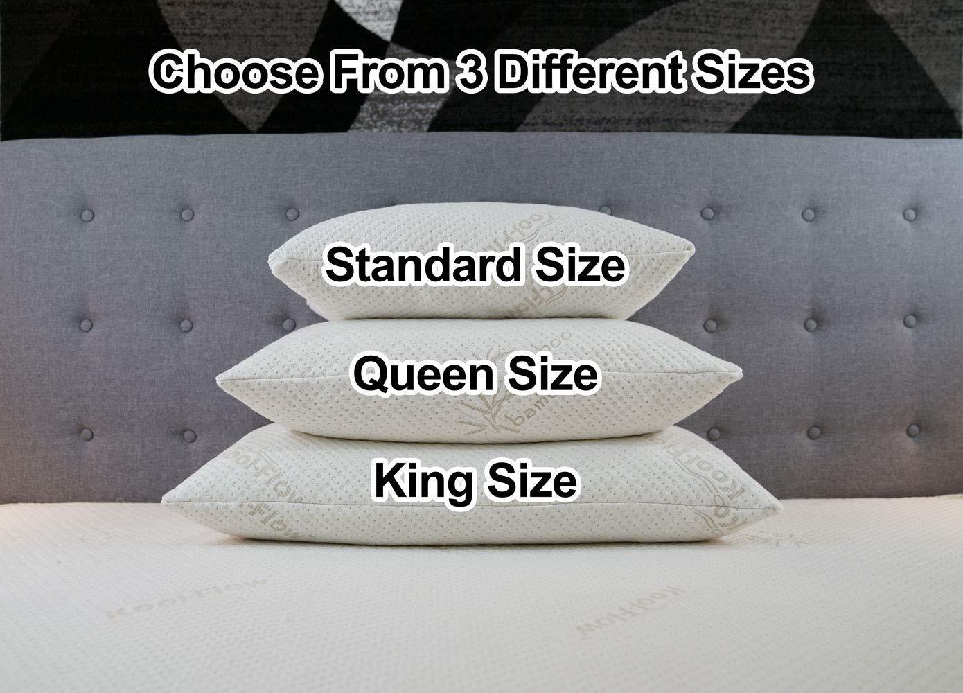 snuggle pedic- memory foam pillows