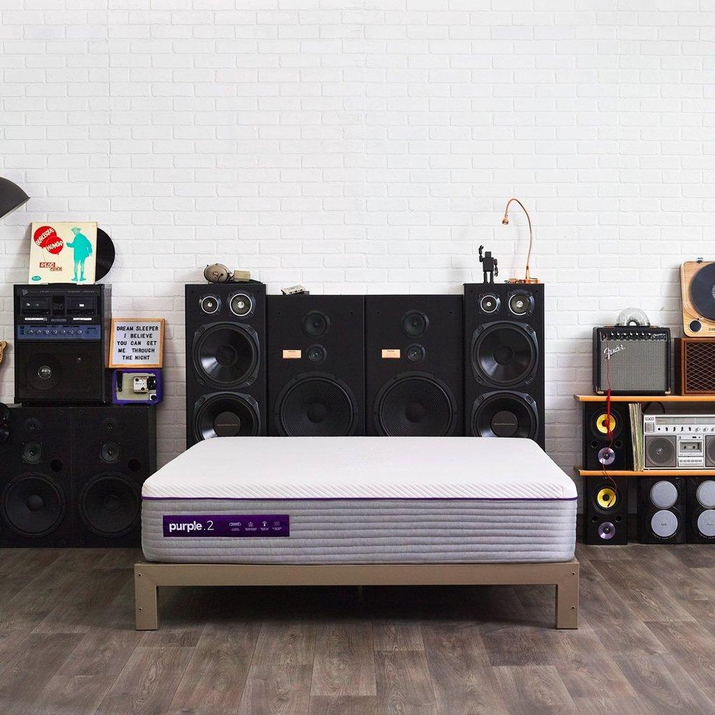 All-New Purple Mattress
