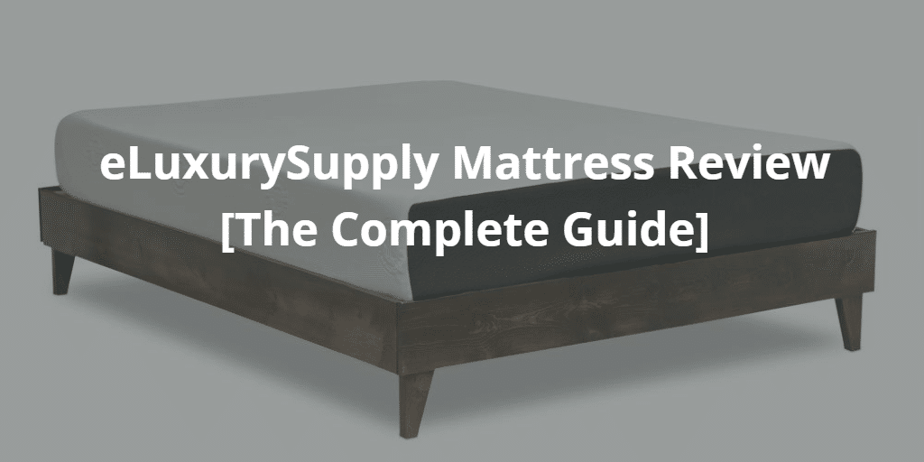 eluxurysupply mattress