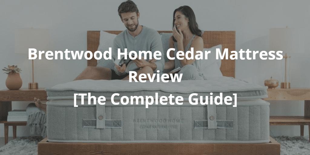 Brentwood Home Cedar Mattress