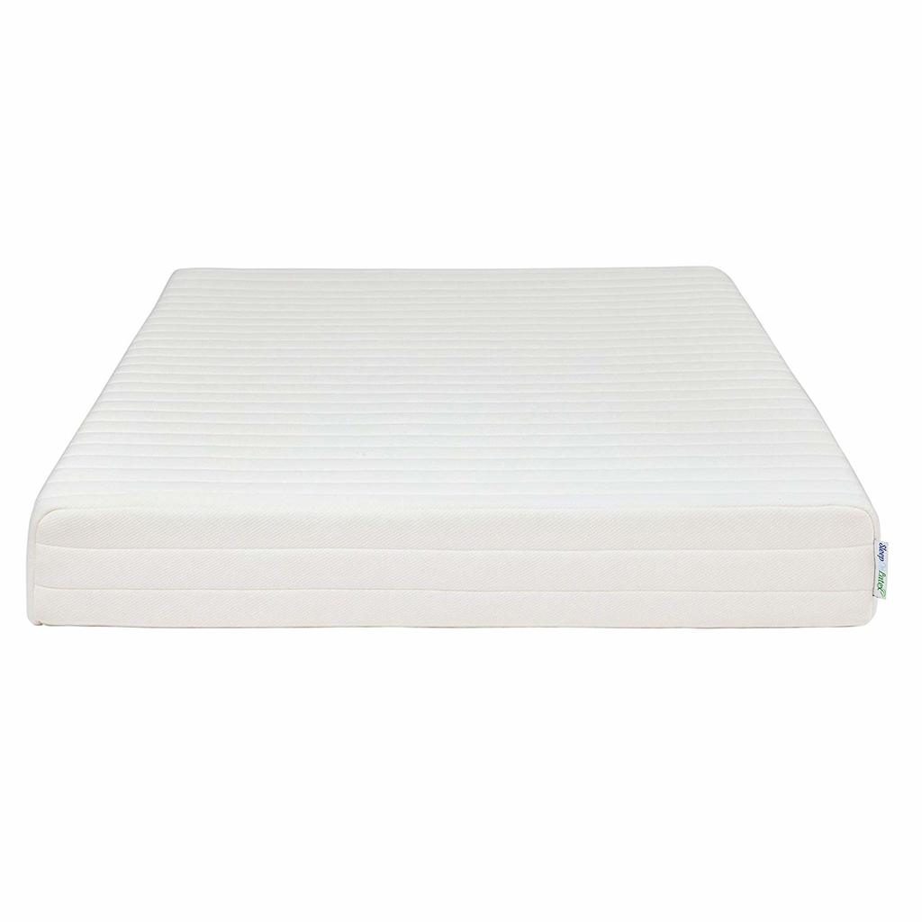 Sleep on latex luxury mattress