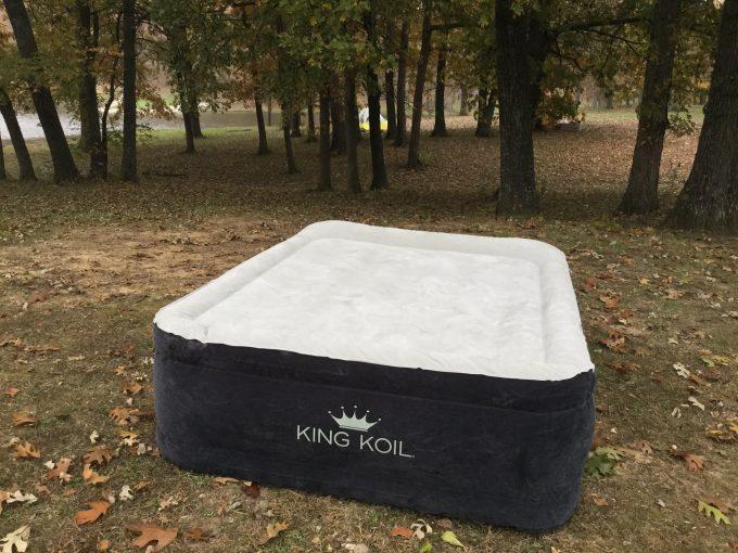 how to find a leak in an air mattress